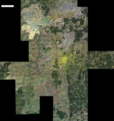 Streckennetz August 09